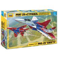 Авиационная группа высшего пилотажа МиГ-29 Стрижи масштаб 1:72 ZV7310, фото 1