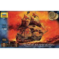 Корабль Джека Воробья Черная жемчужина масштаб 1:350 ZV6513, фото 1