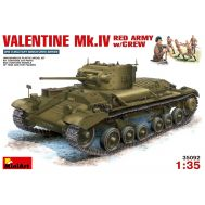 Valentine Mk.IV в Красной армии с экипажем масштаб 1:35 MiniArt MiA35092, фото 1