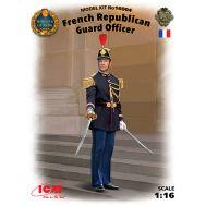 Офицер Республиканской гвардии Франции масштаб 1:16 ICM16004, фото 1