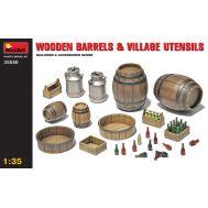 Деревянные бочки и деревенская утварь масштаб 1:35 MiniArt MiA35550, фото 1