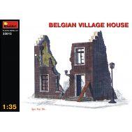 Бельгийский деревенский дом масштаб 1:35 MiniArt MiA35015, фото 1
