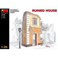 Разрушенный дом масштаб 1:35 MiniArt MiA35526, фото 1