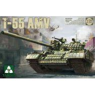 Российский средний танк T-55AMV масштаб 1:35 Takom TAK2042, фото 1