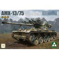 Французский легкий танк AMX-13/75 с ракетами SS-11 2в1 масштаб 1:35 Takom TAK2038, фото 1