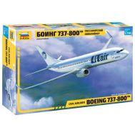 Пассажирский авиалайнер Боинг 737-800 масштаб 1:144 ZV7019, фото 1