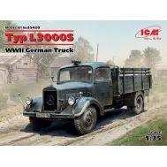 Typ L3000S, Германский грузовой автомобиль ІІ МВ масштаб 1:35 ICM35420, фото 1