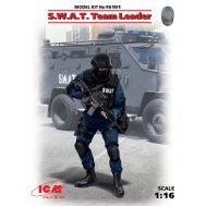 Командир группы S.W.A.T. масштаб 1:16 ICM16101, фото 1