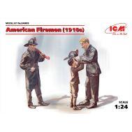 Американские пожарные 1910г. масштаб 1:24 ICM24005, фото 1