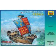 Английский средневековый корабль Томас масштаб 1:72 ZV9038, фото 1