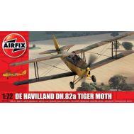De Havilland DH.82a Tiger Moth Military масштаб 1:72 Airfix A01025, фото 1