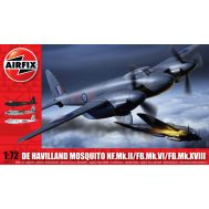 De Havilland Mosquito MkII/VI/XVIII масштаб 1:72 Airfix A03019, фото 1