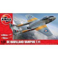 De Havilland Vampire T.11 масштаб 1:72 Airfix A02058, фото 1
