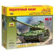 Подарочный Набор Советский тяжёлый танк ИС-2 масштаб 1:35 ZV3524P, фото 1