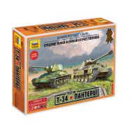 Т-34 против Пантеры масштаб 1:72 ZV5202, фото 1