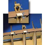 С-зажимы на шпангоуты толще 5 мм (6 шт) MX104, фото 1