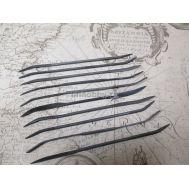 Набор из 10 рифелей длиной 140 мм JAS4311, фото 1