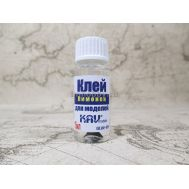 Клей для моделей 15мл с кистью Лимон KAV Glue-05, фото 1