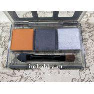 Набор пигментов C (Оранжевая ржавчина, оружейная сталь, серебро) Tamiya 87085, фото 1