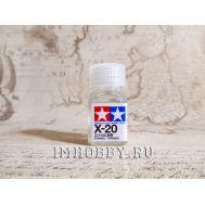 Растворитель для эмалевых красок X-20 10мл Tamiya 80020, фото 1