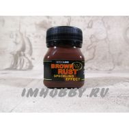 Спеклинг эффект Ржавчина коричневая 50мл Wilder HDF-NL-27, фото 1