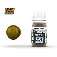 Xtreme Metal Brass 30ml AK-Interactive AK-475, фото 1