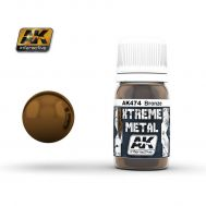 Xtreme Metal Bronze 30ml AK-Interactive AK-474, фото 1