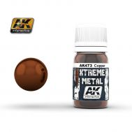 Xtreme Metal Copper 30ml AK-Interactive AK-473, фото 1