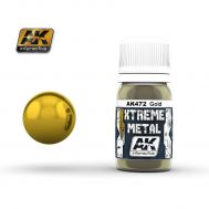 Xtreme Metal Gold 30ml AK-Interactive AK-472, фото 1