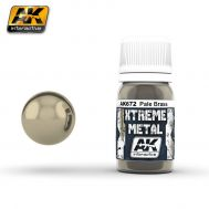 Xtreme Metal Pale Brass 30ml AK-Interactive AK-672, фото 1