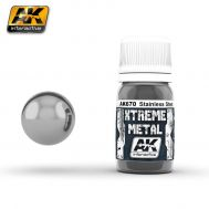 Xtreme Metal Stainless Steel 30ml AK-Interactive AK-670, фото 1