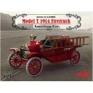 Американский пожарный автомобиль Model T 1914 масштаб 1:24 ICM24004, фото 1