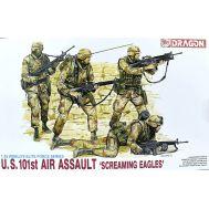 Американские солдаты US 101st Air Assault масштаб 1:35 Dragon 3011D, фото 1