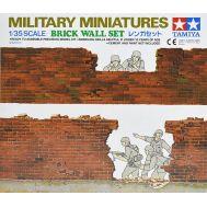 Набор фрагментов кирп. стен 4 вида для диорам масштаб 1:35 Tamiya 35028, фото 1