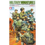 Американские пехотинцы Западно-европ. (8 фигур) масштаб 1:35 Tamiya 35048, фото 1
