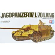 Нем. противотанк. САУ с 75-мм пушкой Jagdpanzer IV Lang масштаб 1:35 Tamiya 35088, фото 1