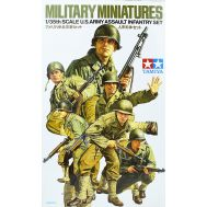Американские пехотинцы (6 фигур) в форме М1941 и М1943 масштаб 1:35 Tamiya 35192, фото 1