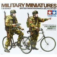 Английский военный патруль на велосипедах, 2 фигуры масштаб 1:35 Tamiya 35333, фото 1