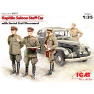 Kapitan Saloon Staff Car Soviet масштаб 1:35 ICM35477, фото 1
