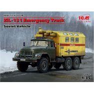 Зил-131 Аварийная служба масштаб 1:35 ICM35518, фото 1
