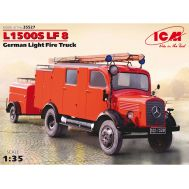 Пожарный автомобиль L1500S LF8 масштаб 1:35 ICM35527, фото 1