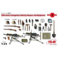 Вооружение и оборудование Австро-Венгерской пехоты 1 МВ масштаб 1:35 ICM35671, фото 1