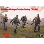 Австро-Венгерская пехота 1914г. (4 фигуры) масштаб 1:35 ICM35673, фото 1