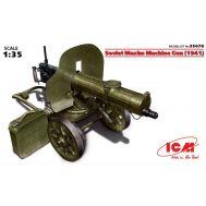 Пулемет Максим 1941г. масштаб 1:35 ICM35676, фото 1
