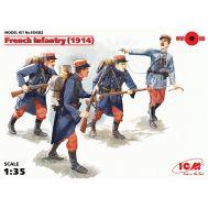 Французская пехота 1914г. масштаб 1:35 ICM35682, фото 1