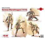 Германские штурмовые части 1918г масштаб 1:35 ICM35692, фото 1