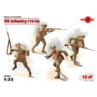 Пехота США 1918г масштаб 1:35 ICM35693, фото 1