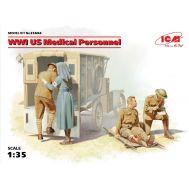 Медицинский персонал США ІМВ масштаб 1:35 ICM35694, фото 1
