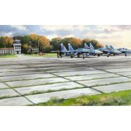 Советские аэродромные плиты ПАГ-14 масштаб 1:72 ICM72214, фото 1