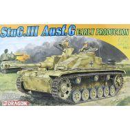 StuG III Ausf.G Early Production масштаб 1:72 Dragon 7283D, фото 1